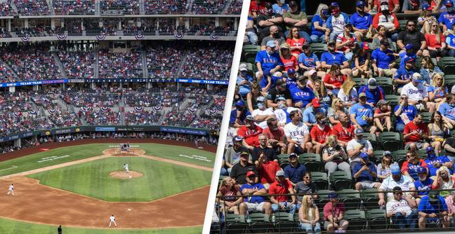 Texas Rangers Fans Fill 38,000-Capacity Stadium For Home Opener Without Any Social Distancing
