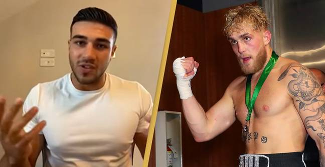 Tommy Fury Calls Out 'Nobody' Jake Paul In Foul-Mouthed Rant