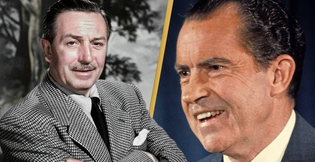 Walt Disney Once Accidentally Kidnapped President Richard Nixon