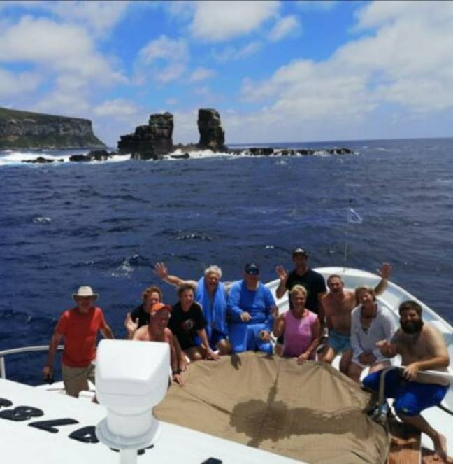 Collapse of Darwin's Arch in Galapagos Islands