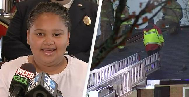 11-Year-Old Girl Awarded For Saving Little Brother From House Fire After Babysitter Leaves