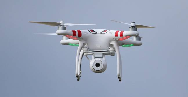 Drone with camera (PA)