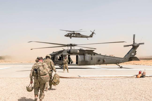US Army in Afghanistan PA Images