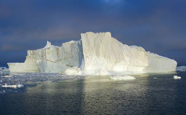 Greenland ice berg (PA Images)