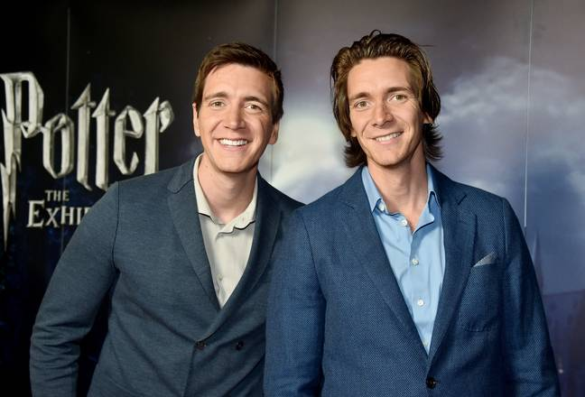 James and Oliver Phelps (PA Images)
