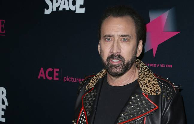 Nicolas Cage's pitch for The Green Hornet didn't go well. (PA Images)