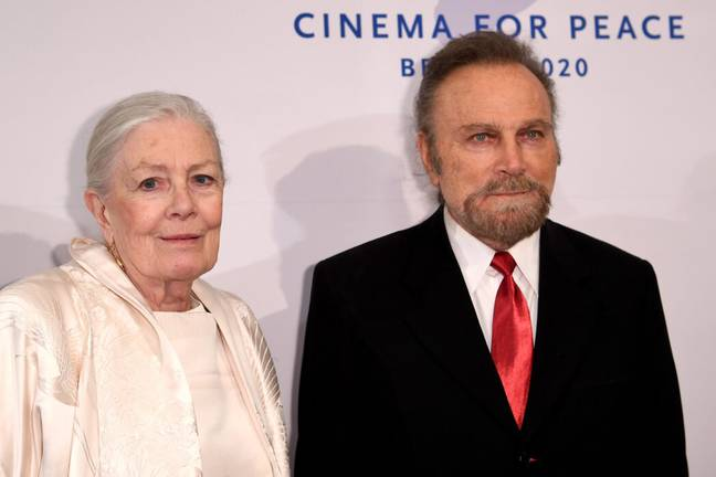 Director Franco Nero and his wife Vanessa Redgrave (PA Images)