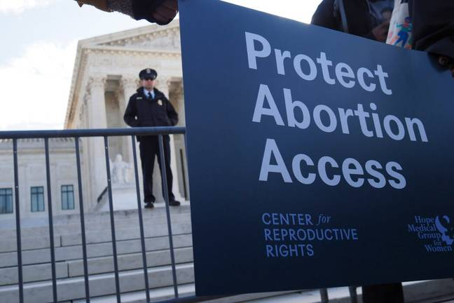 The challenge represents the biggest threat to abortion rights in 30 years (PA Images)