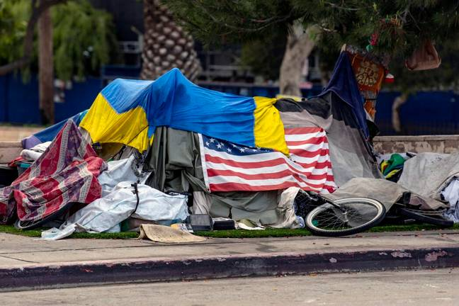Homelessness is rising in Los Angeles