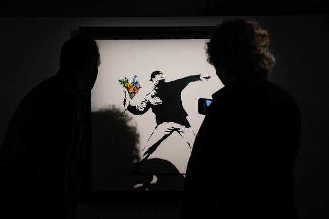 Banksy's art is among the most reproduced in the world (PA Images)