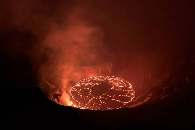 Kilauea volcano has stopped erupting (USGS/PA Images)