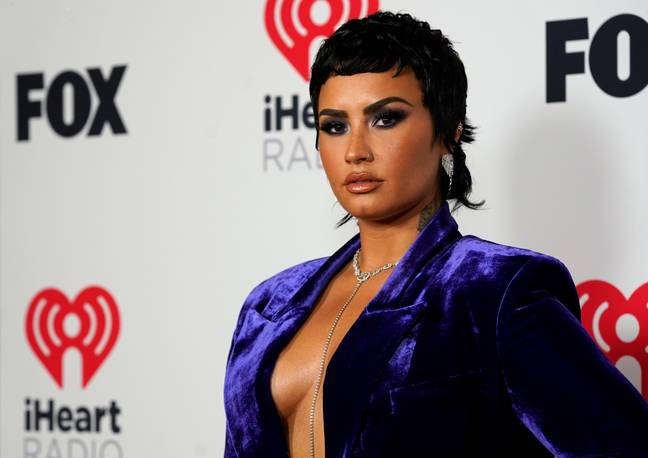 Demi Lovato at iHeartRadio Awards (PA Images)