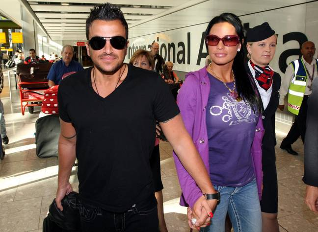 Katie Price and Peter Andre back in 2009. (PA Images)
