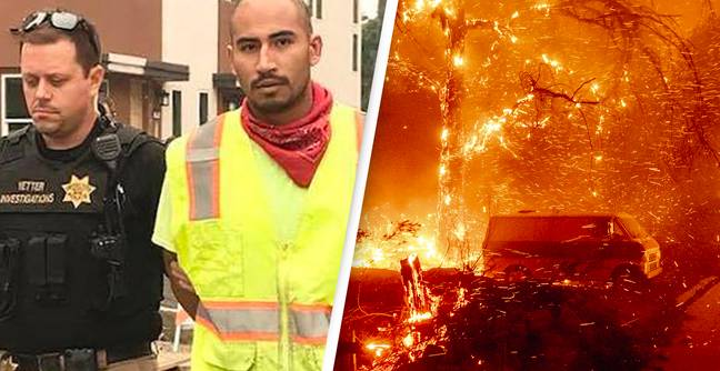Deadly California Wildfire Was Intentionally Started To Cover Up Woman's Murder, Say Authorities