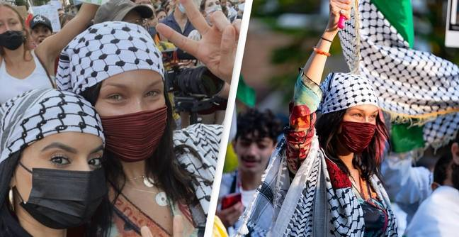 Bella Hadid Praised For Protesting Gaza Violence While Other Celebrities Keep Quiet