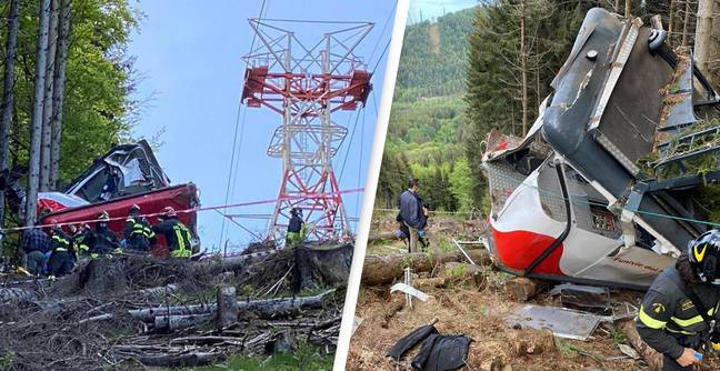 Cable Car That Killed 14 After Plunging From Mountain Was 'Tampered With', Prosecutors Claim