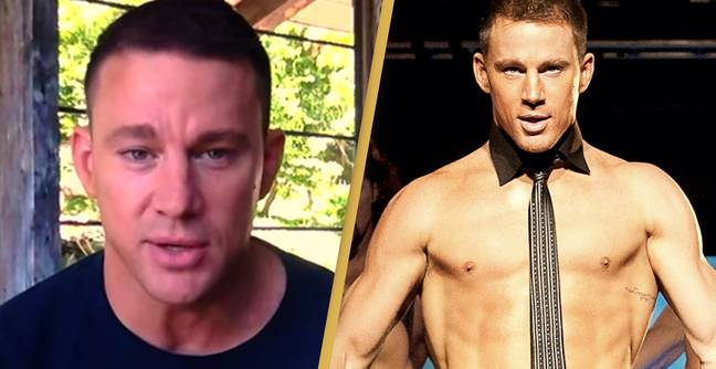 Channing Tatum Jokes He's 'Naked' In Most Of His Movies Because He Can't Act