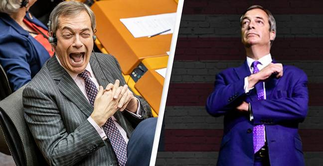 People Are Claiming 1000's Of Free Tickets To Nigel Farage's US Tour With No Plans To Attend