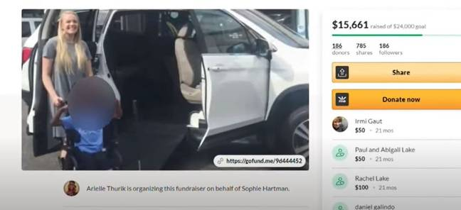 GoFundMe for wheelchair accessible vehicle (King 5/YouTube)