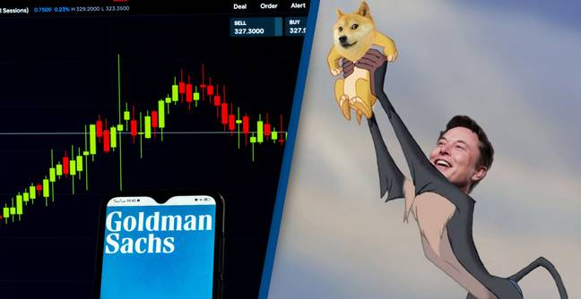 Goldman Sachs Boss Reportedly Quits After Making Millions From Dogecoin