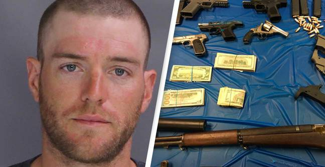 Ghost Guns And Almost $1 Million Of Meth Seized Alongside Nazi Paraphernalia In Couple's Home