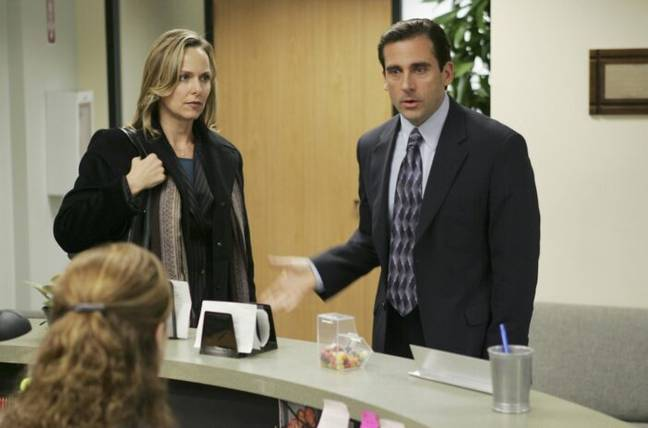Jan and Michael in The Office
