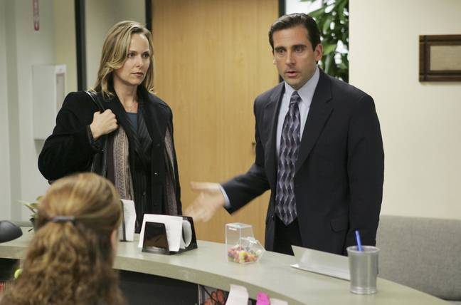 Jan and Michael in The Office (NBC)