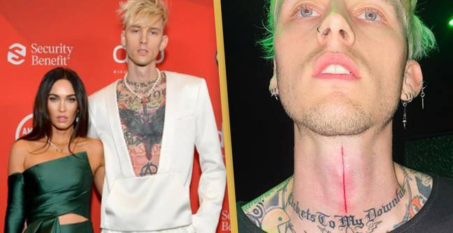 Machine Gun Kelly Explains Why He Wears Necklace Containing Megan Fox's Blood