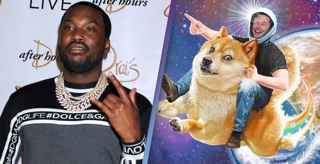 Meek Mill Buys Up $50,000 Worth Of Dogecoin As It Skyrockets (IA Tag)