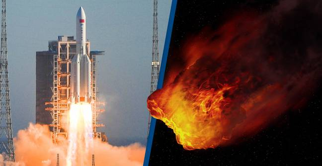 Out-Of-Control Rocket Tumbling To Earth Probably Won't Kill You, Say Astronomers