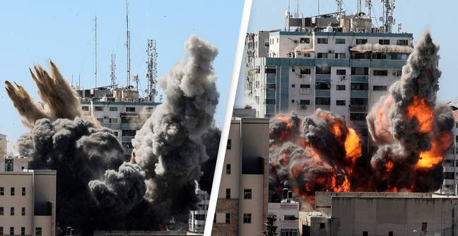 No Evidence Hamas In Media Building Destroyed By Israeli Air Strikes, US Secretary Of State Claims