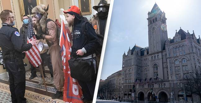 Trump Hotel Increased Rates To Price Out QAnon Supporters