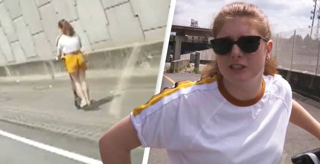 Girl Who Took Wrong Turn Onto Motorway On Her Scooter Explains What Happened
