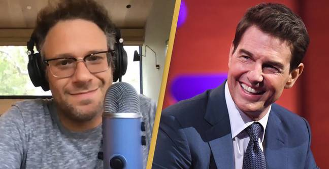 Seth Rogen Recalls How Tom Cruise Tried To Recruit Him Into Scientology