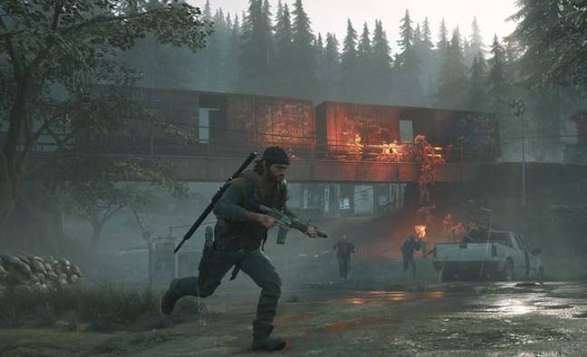 Days Gone video game (Sony)