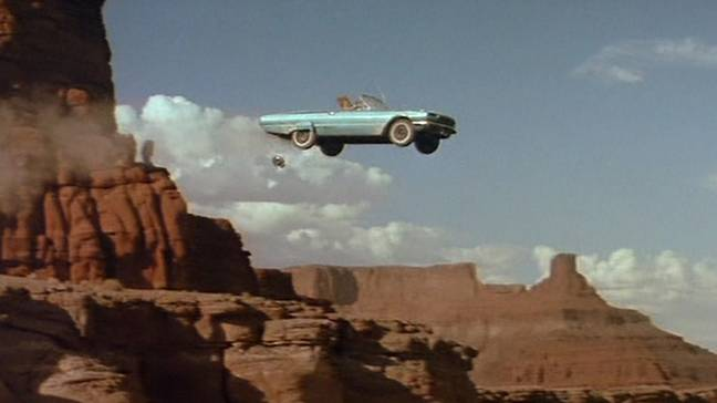 Thelma & Louise drive off cliff (MGM)