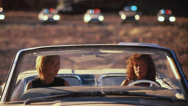 Thelma & Louise police (MGM)