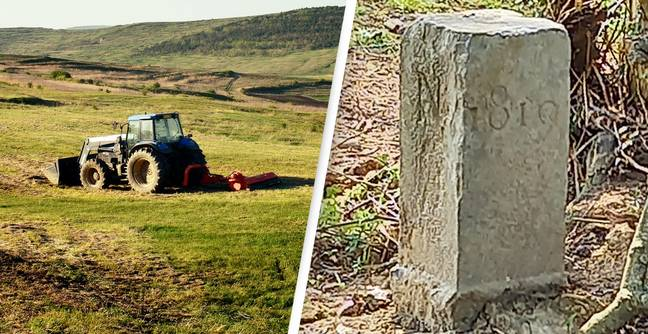 Farmer Moves French Border So He Can Turn His Tractor Around