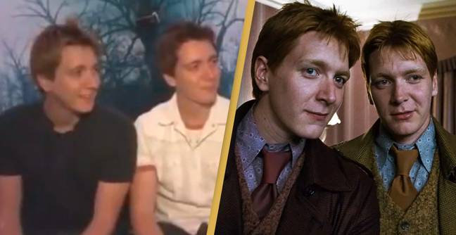 Video Resurfaces Showing Weasley Twins Troll Interviewer Into Thinking They're Not Related