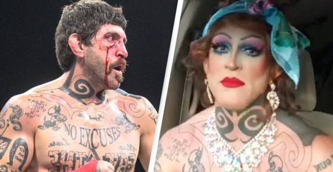 MMA Fighter Known As 'Two Guns' Performs As Drag Queen Called Lola At Night