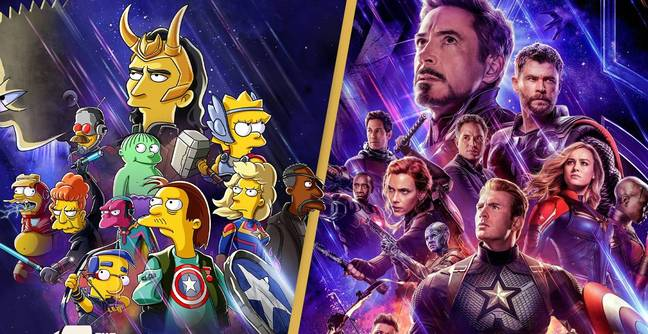 Disney Announces Simpsons-Marvel Crossover We Never Knew We Needed