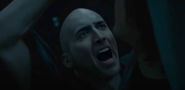 Deepfake Nicholas Cage as Lord Voldemort (Race Archibold/YouTube)