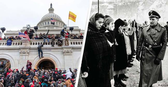 Capitol Rioter 'Learned About Her Guilt' After Watching 'Schindler's List'