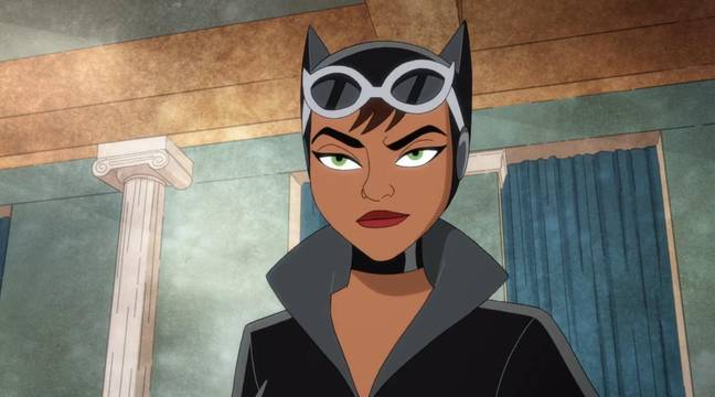 Catwoman in Harley Quinn. (HBO Max)