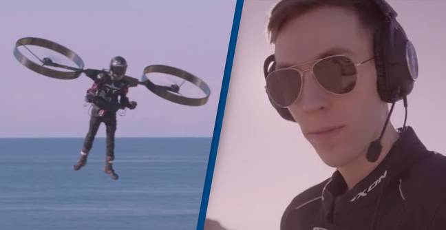 Backpack Helicopter Takes To The Skies For First Time In Incredible Video