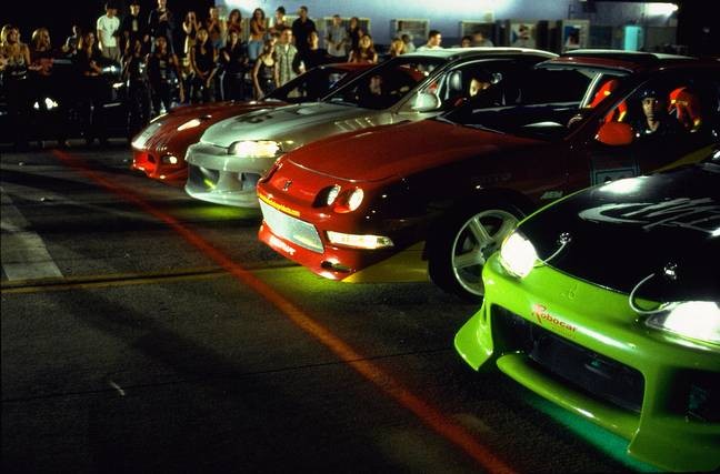 The Fast and the Furious. (Universal Pictures)