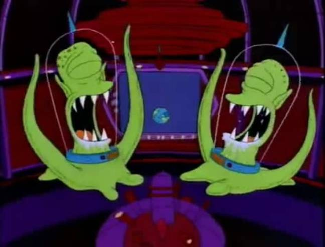 Kang and Kodos from The Simpsons. (20th Television)