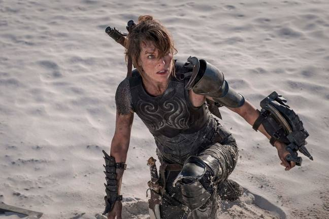 Milla Jovovich in Monster Hunter. (Sony Pictures Releasing)
