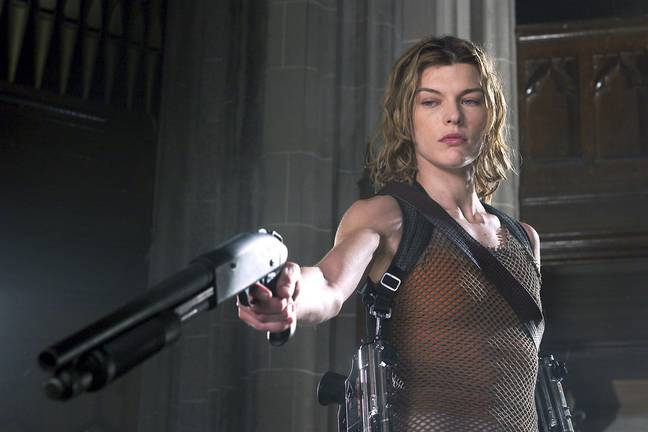 Milla Jovovich in Resident Evil: Apocalypse. (Sony Pictures Releasing)