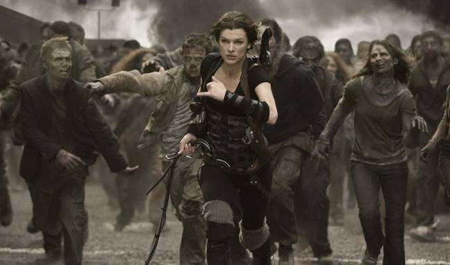 Milla Jovovich in Resident Evil: The Final Chapter. (Sony Pictures Releasing)